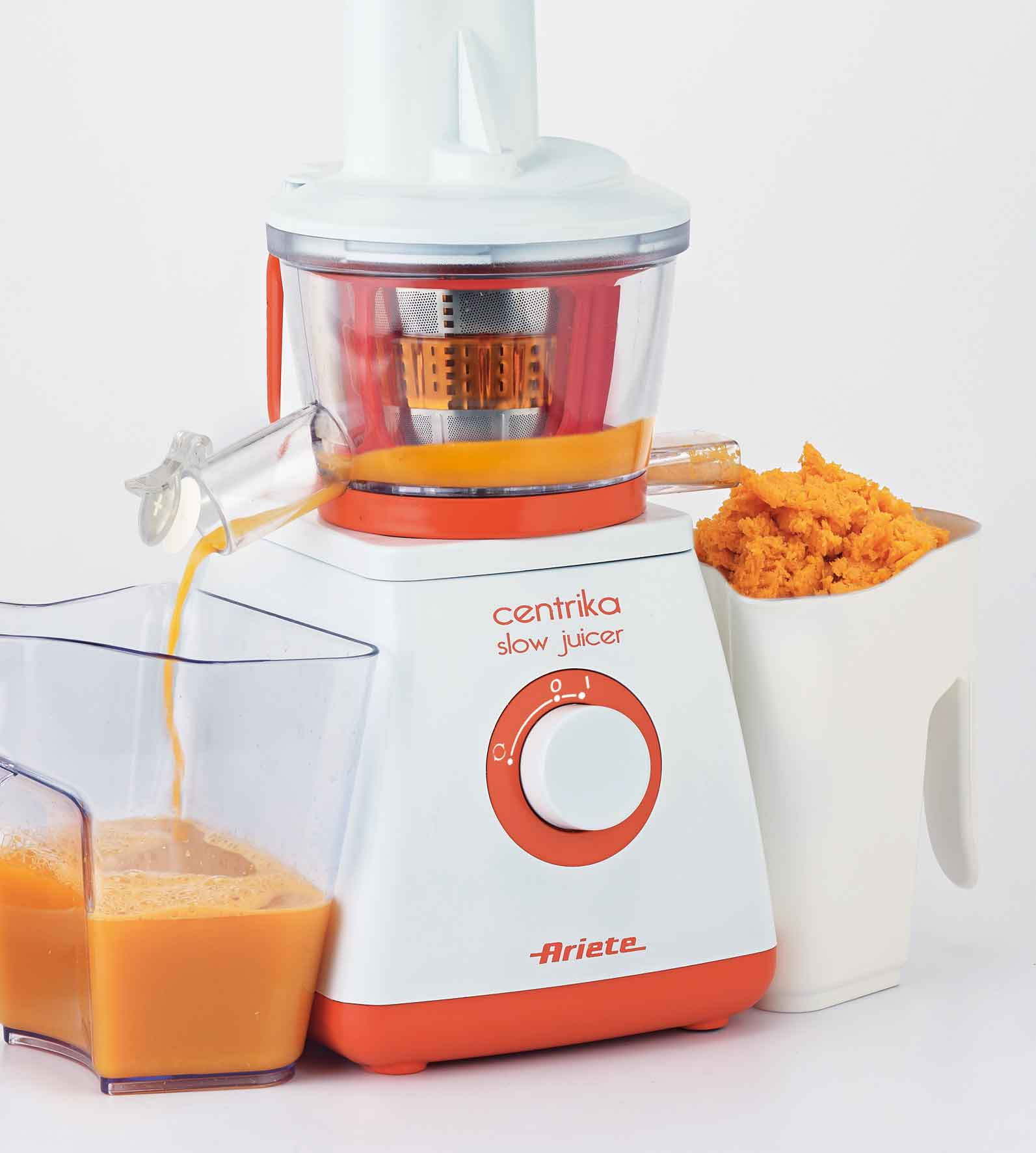 Cucina Red Slow Juicer Review : Centrika Slow Juicer - Ariete Piccoli elettrodomestici