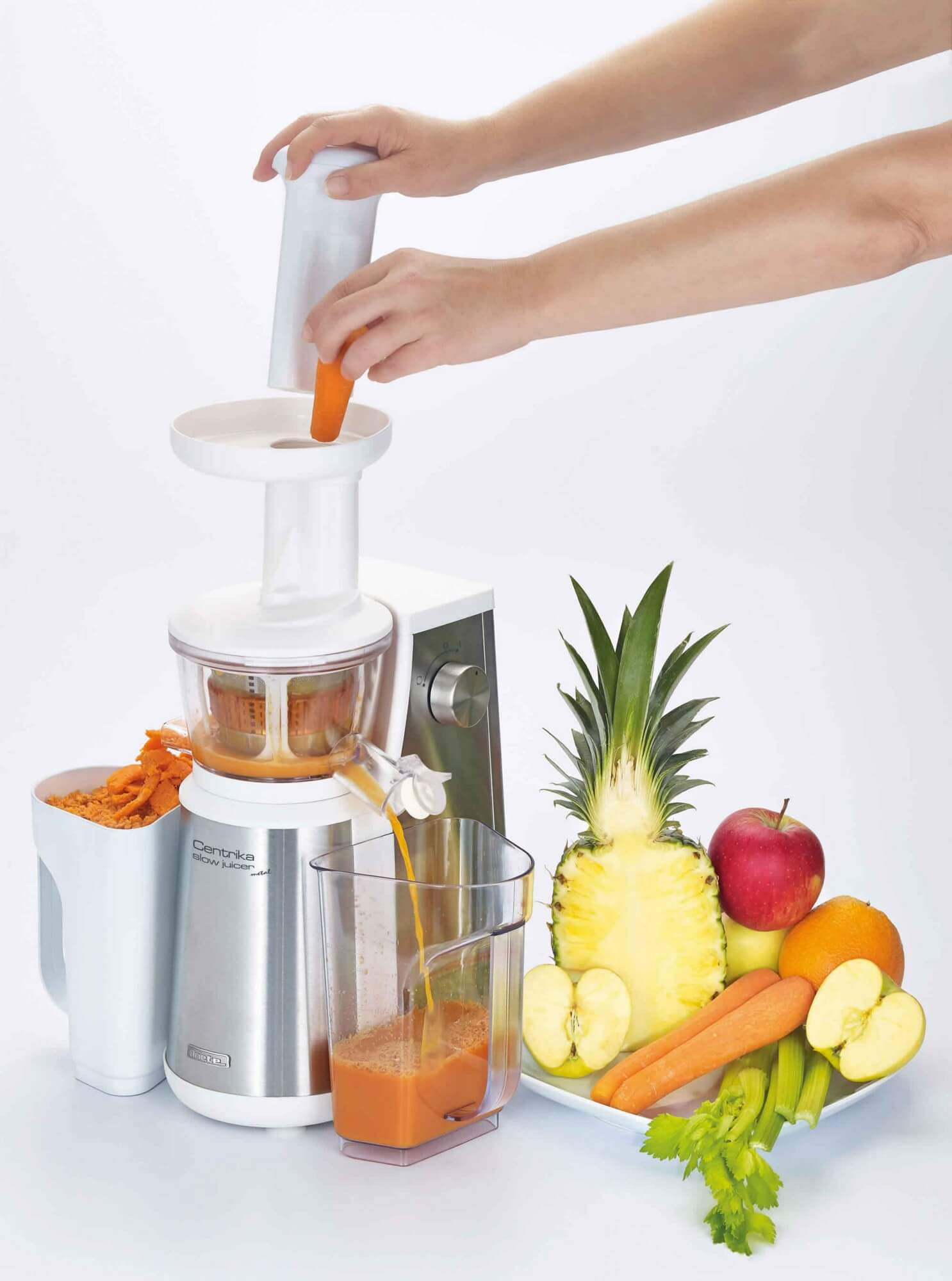 Cucina Red Slow Juicer Reviews : Centrika Slow Juicer Metal - Ariete