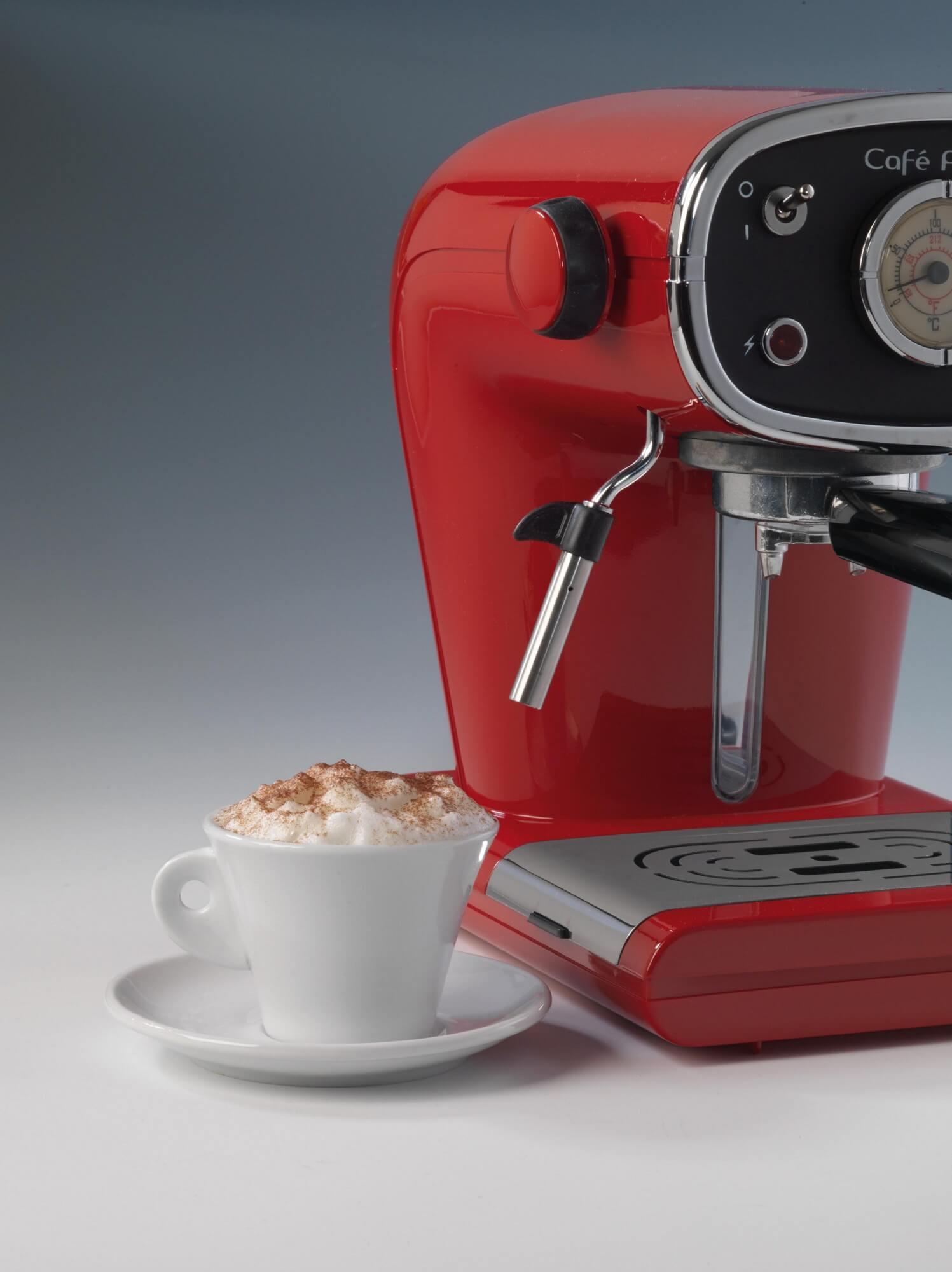 Cafè Retro Red - Ariete (EN)