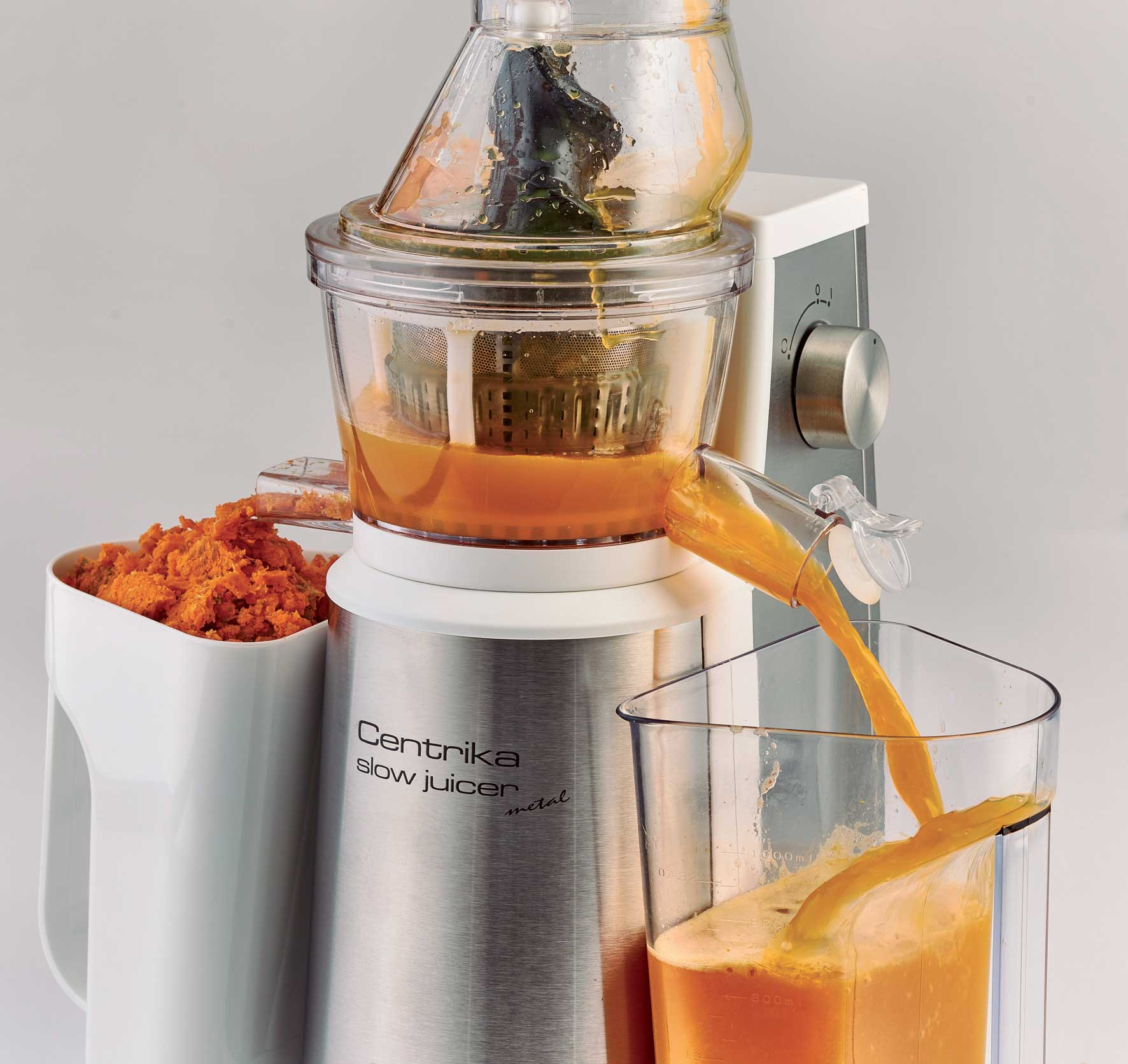 Ariete Slow Juicer Review : Centrika Slow Juicer Metal - Ariete (EN)