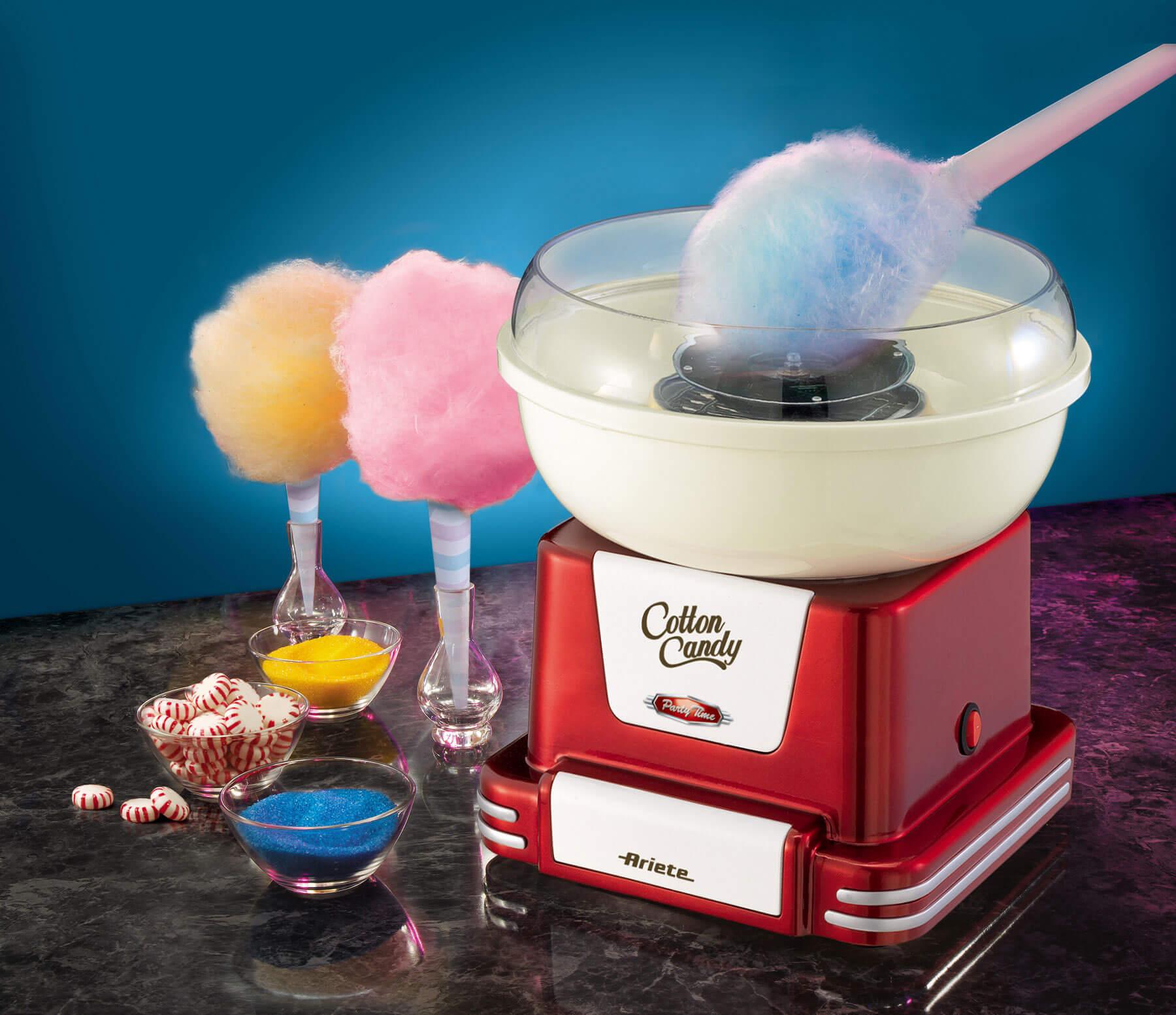 Cotton candy party time ariete en - Machine a barbe a papa ...