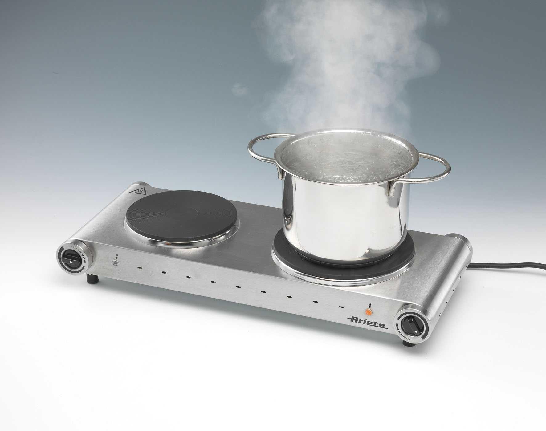 Used Ice Machine >> Double Hot Plate - Ariete (EN)