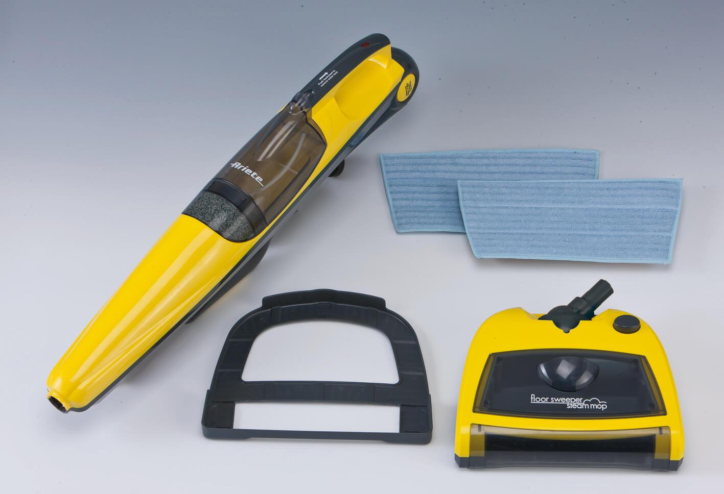 floor sweeper steam mop ariete en