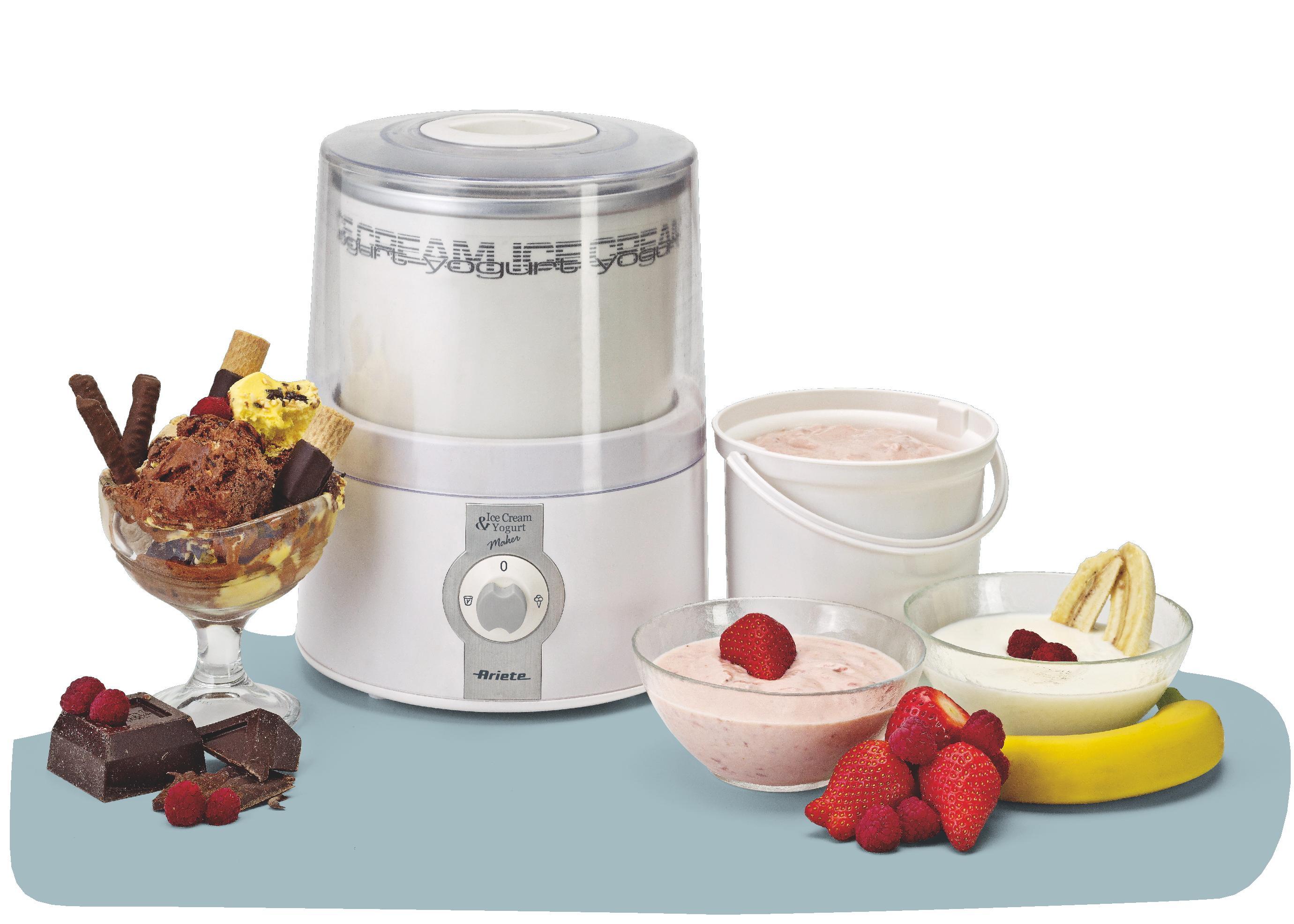 Ice cream & Yogurt maker - Ariete (EN)
