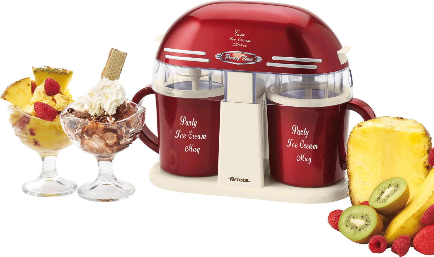 Twin Ice Cream Maker
