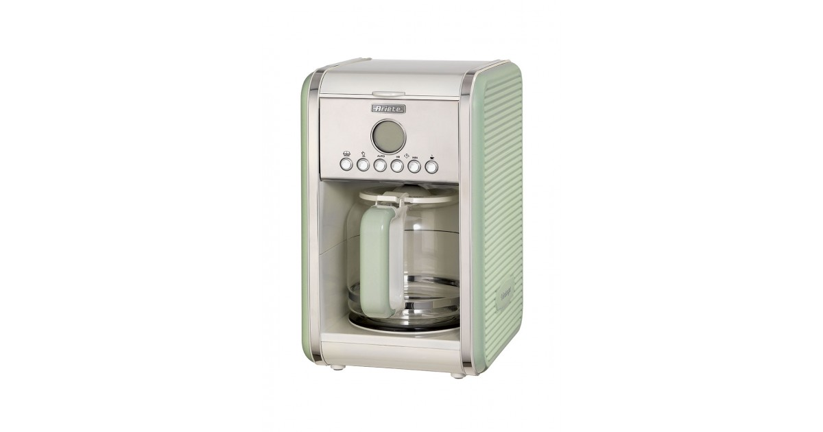 Ariete Retro Filter Coffee Machine 12 cups Vintage Series Cream 2000W