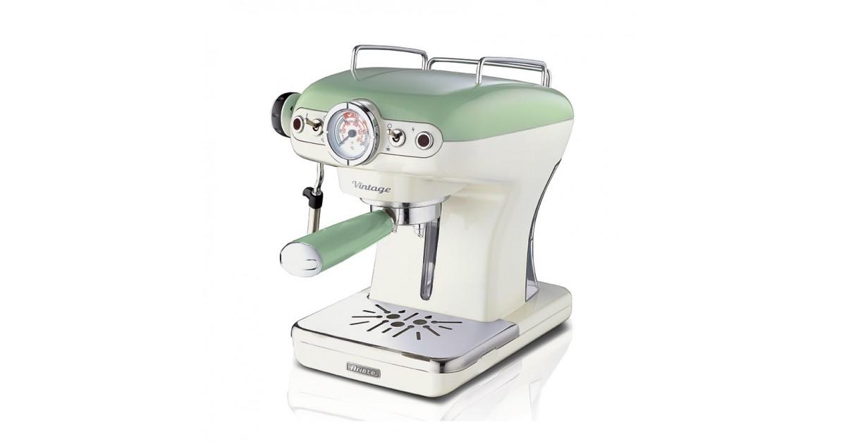ARIETE kit braccetto portafiltro verde per macchina caffè Vintage Retrò 1389
