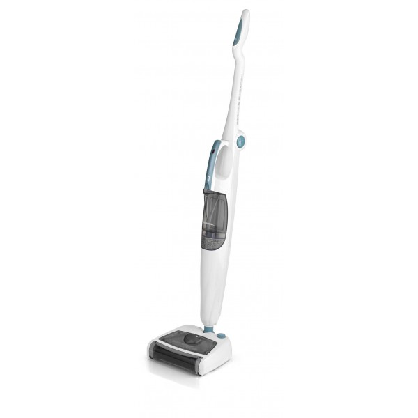 Floor Sweeper Steam Mop White